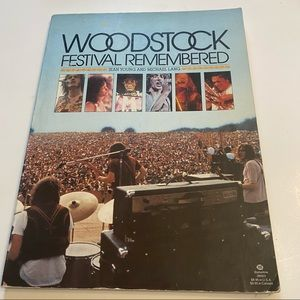 Woodstock Festival Remembered by Jean Young and Michael Lang First Edition